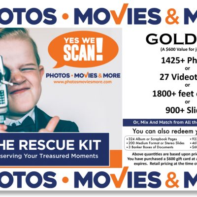 Gold Kit Box Label